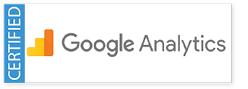 Certified Google Analytics Partner