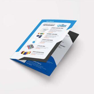 A5 leaflet design by Gold Coast Graphic Design