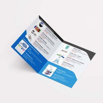 Gold Coast Graphic Design A5 leaflet design