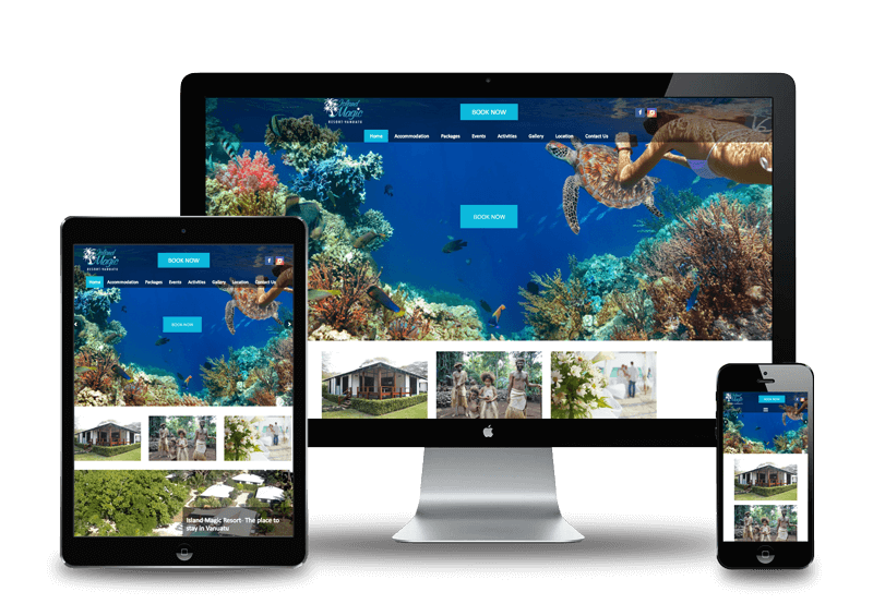 Accommodation-and-Resort-websites
