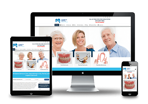 Cosmetic Dental Clinic Website