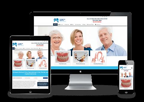 Cosmetic Dental Clinic Website