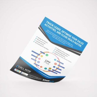 CRM systems leaflet