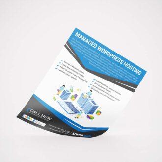 web design and development leaflet