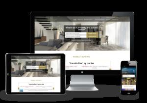 Gold Coast real estate responsive website