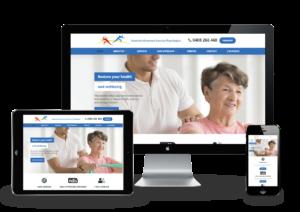 Exercise Psychologist Responsive Webdesign