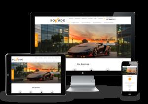 Finance responsive web design