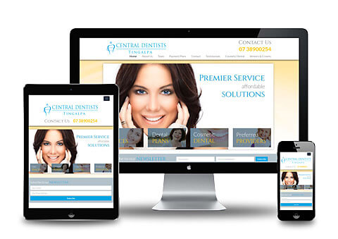 Tingalpa Dental Clinic Website