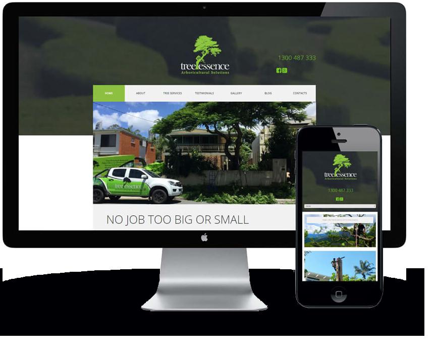 Tree Services Website