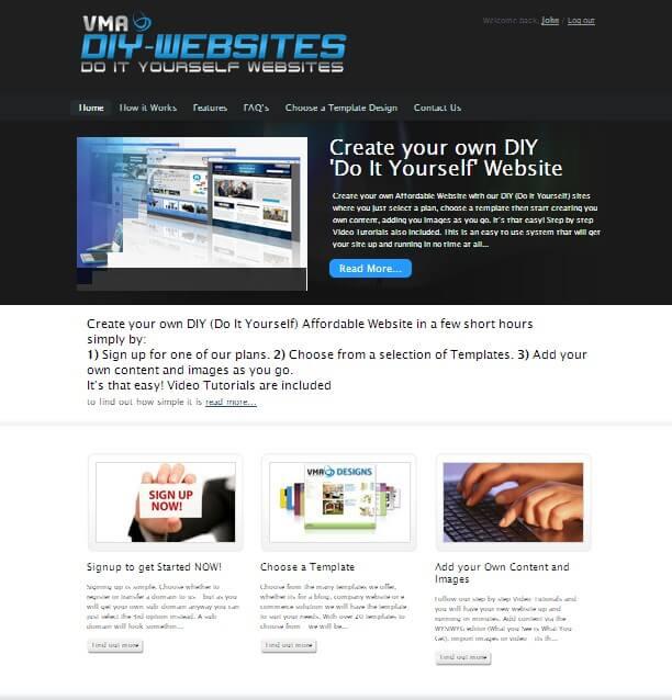 VMA DIY websites