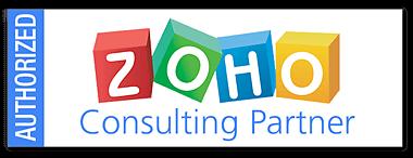 Zoho Authorized Consulting Partner badge Gold Coast