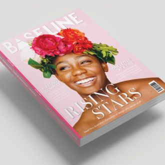 Graphic Design for a magazine cover