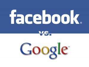 facebook vs google