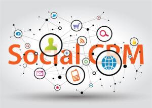 Zoho CRM Social media